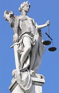 Statue of Justitia