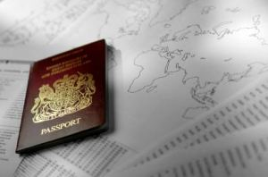Passport & map