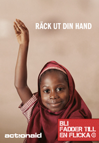 Action Aid - bli fadder till en flicka