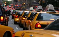 N.Y. city traffic