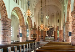 St Nikolai kyrka, interiör