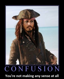 Confused Jack Sparrow