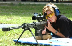 Female sharpshooter