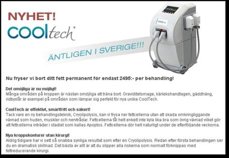 Cooltech - Cryolipolysis
