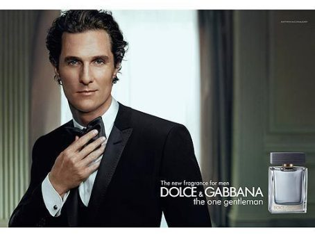 McConaughey in Dolce & Gabbana commercial